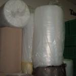 hullámpapír és légpárnás fólia