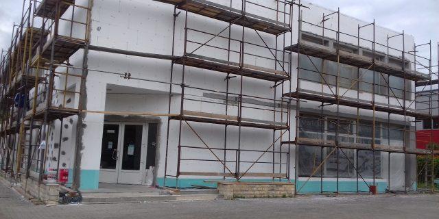 Épület felújítás