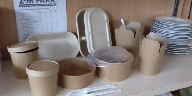 Komposztálható eldobóedények